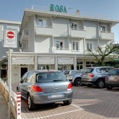 Отель Appartamenti Rosa Абано-Терме парковка