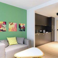 Отель Hilton Garden Inn Brussels City Centre Бельгия, Брюссель - 4 отзыва об отеле, цены и фото номеров - забронировать отель Hilton Garden Inn Brussels City Centre онлайн комната для гостей фото 5