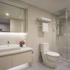 Отель Citadines Central Xi'an Китай, Сиань - отзывы, цены и фото номеров - забронировать отель Citadines Central Xi'an онлайн ванная фото 2