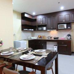 Апартаменты J Town serviced Apartments в номере