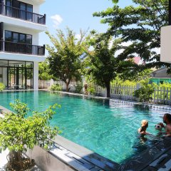 Отель Ruby Villa Хойан бассейн фото 3
