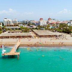 Crystal Waterworld Resort & Spa Турция, Богазкент - 2 отзыва об отеле, цены и фото номеров - забронировать отель Crystal Waterworld Resort & Spa онлайн пляж