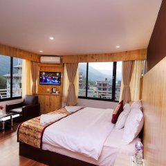 Отель Trekkers Inn Непал, Покхара - отзывы, цены и фото номеров - забронировать отель Trekkers Inn онлайн комната для гостей фото 2