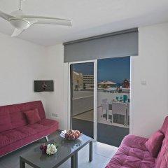 Отель Evelina Apartment Кипр, Протарас - отзывы, цены и фото номеров - забронировать отель Evelina Apartment онлайн комната для гостей фото 4