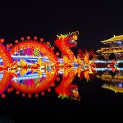 Отель Lucky Day Hotel Китай, Сиань - отзывы, цены и фото номеров - забронировать отель Lucky Day Hotel онлайн вид на фасад фото 2