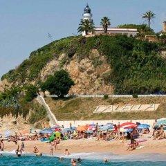 Hotel Les Palmeres пляж