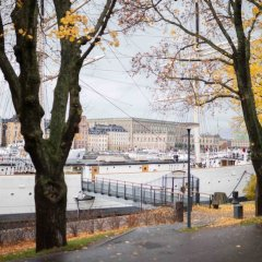 Stf Stockholm/af Chapman & Skeppsholmen Hostel Стокгольм парковка
