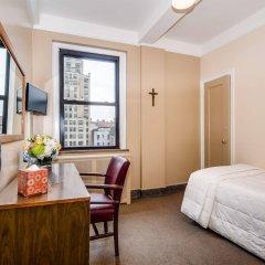 Отель Leo House США, Нью-Йорк - отзывы, цены и фото номеров - забронировать отель Leo House онлайн комната для гостей фото 5