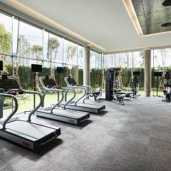 Отель Grande Centre Point Pattaya Паттайя фитнесс-зал