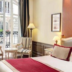 Отель Best Western Premier Trocadero La Tour Париж комната для гостей фото 4