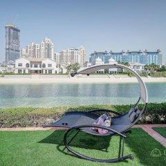 Отель Dream Inn Dubai-Luxury Palm Beach Villa фото 4
