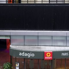 Отель Aparthotel Adagio Paris Centre Tour Eiffel парковка