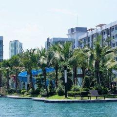Отель Dusit Grand Park By Lurii Паттайя приотельная территория фото 2