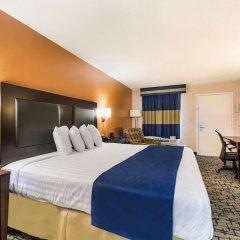 Отель Rodeway Inn Meridian сейф в номере