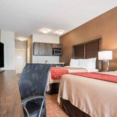 Отель Comfort Inn & Suites комната для гостей фото 3