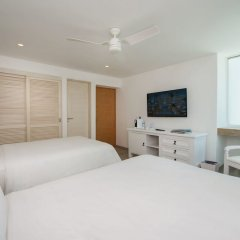 Отель Oleo Cancun Playa All Inclusive Boutique Resort комната для гостей фото 8