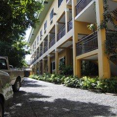 Отель Aparthotel La Cordillera парковка