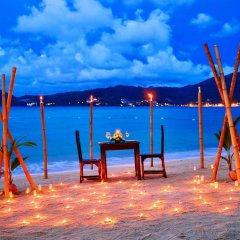 Отель Tri Trang Beach Resort by Diva Management пляж