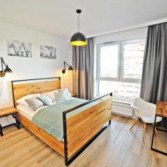 Апартаменты Grand Apartments - Bastion Wałowa Гданьск комната для гостей