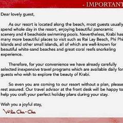 Отель Villa Cha-Cha Krabi Beachfront Resort Таиланд, Краби - отзывы, цены и фото номеров - забронировать отель Villa Cha-Cha Krabi Beachfront Resort онлайн фото 9