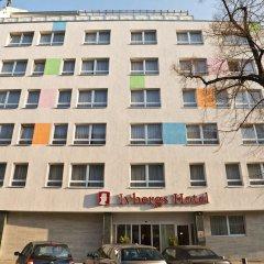 Отель Ivbergs Hotel Messe Nord Германия, Берлин - 14 отзывов об отеле, цены и фото номеров - забронировать отель Ivbergs Hotel Messe Nord онлайн вид на фасад