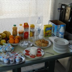 Отель White Beach BeB Фонтане-Бьянке питание фото 2
