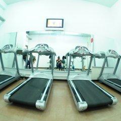 Отель Cross Health Center фитнесс-зал фото 3
