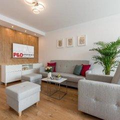 Отель P&O Apartments Centralny Польша, Варшава - отзывы, цены и фото номеров - забронировать отель P&O Apartments Centralny онлайн комната для гостей фото 4