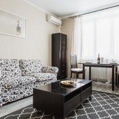 Апартаменты DailyRooms Na Berezhkovskoy Naberezhnoy Apartments Москва комната для гостей