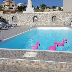 Отель Villa Pavlina Греция, Остров Санторини - отзывы, цены и фото номеров - забронировать отель Villa Pavlina онлайн бассейн фото 3