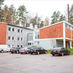 Отель Forenom Hostel Espoo Otaniemi Финляндия, Эспоо - отзывы, цены и фото номеров - забронировать отель Forenom Hostel Espoo Otaniemi онлайн парковка
