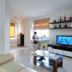 Отель Praso Ratchada Таиланд, Бангкок - отзывы, цены и фото номеров - забронировать отель Praso Ratchada онлайн комната для гостей фото 3