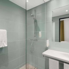 Отель Super 8 Munich City West Германия, Мюнхен - 1 отзыв об отеле, цены и фото номеров - забронировать отель Super 8 Munich City West онлайн ванная