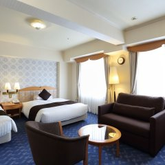 Отель Nishitetsu Grand Фукуока комната для гостей фото 4