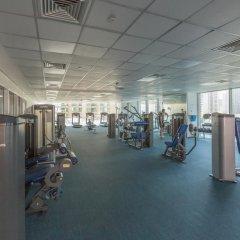 Отель Piks Key - Dubai Marina Heights фитнесс-зал
