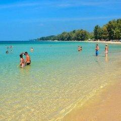 Отель Kantiang Oasis Resort & Spa пляж фото 2