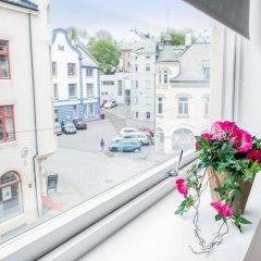 Отель Aalesund Apartments - City Center Норвегия, Олесунн - отзывы, цены и фото номеров - забронировать отель Aalesund Apartments - City Center онлайн балкон