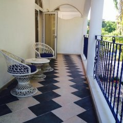 Апартаменты Apartment With 2 Bedrooms in Boca Chica, With Pool Access, Furnished T балкон
