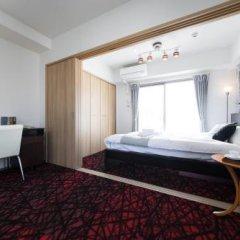 Отель Residence Hotel Hakata 5 Япония, Фукуока - отзывы, цены и фото номеров - забронировать отель Residence Hotel Hakata 5 онлайн комната для гостей фото 5