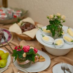 Гостиница Лермонтовский Отель Украина, Одесса - 8 отзывов об отеле, цены и фото номеров - забронировать гостиницу Лермонтовский Отель онлайн питание фото 3
