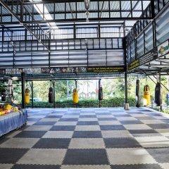 Отель Natural Wing Health Spa & Resort парковка