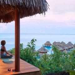 Отель Conrad Bora Bora Nui фитнесс-зал фото 2