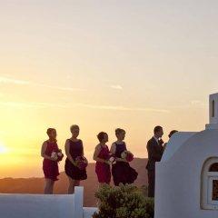 Отель Santorini Princess SPA Hotel Греция, Остров Санторини - отзывы, цены и фото номеров - забронировать отель Santorini Princess SPA Hotel онлайн приотельная территория