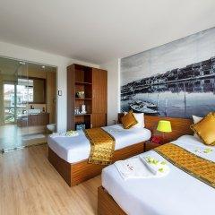 Vinh Hung 2 City Hotel комната для гостей