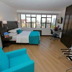 Отель Dann Cali Колумбия, Кали - отзывы, цены и фото номеров - забронировать отель Dann Cali онлайн комната для гостей фото 4
