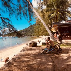 Отель Sairee Cottage Resort пляж