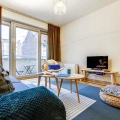 Апартаменты Sweet Inn Apartments Godecharles Брюссель комната для гостей фото 2