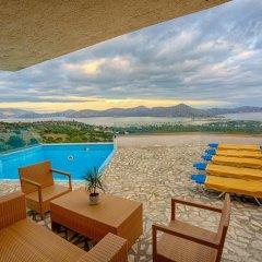 Отель Elounda Water Park Residence пляж