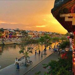 Отель Flamingo Villa Hoi An Вьетнам, Хойан - отзывы, цены и фото номеров - забронировать отель Flamingo Villa Hoi An онлайн приотельная территория фото 2
