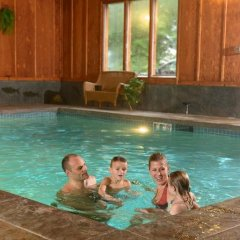 Отель Lake Quinault Lodge Куинолт бассейн фото 3